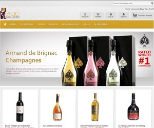 Ecommerce Website Design for Ekulo Wine World, Lagos Nigeria